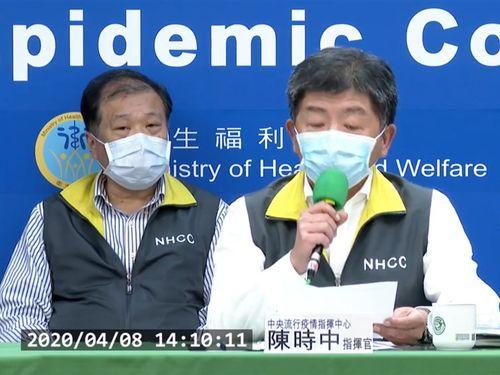 中央感染症指揮センターの陳時中指揮官=疾病管制署の公式YouTubeチャンネルから