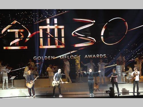 昨年6月の「ゴールデン・メロディー・アワード」(金曲奨)授賞式でのパフォーマンス