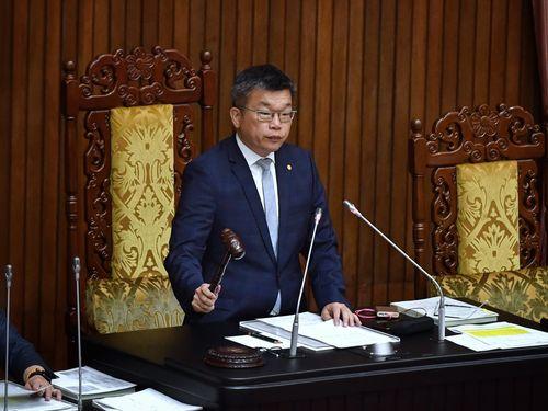 立法院の蔡其昌副院長(副議長)