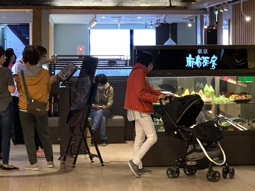 麻布茶房台中店=4月28日撮影