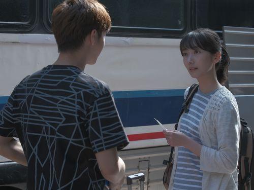 ドラマ「路~台湾エクスプレス~」の劇中写真。右は主演の波瑠=公共テレビ提供