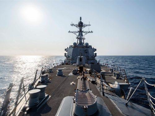 米イージス艦「マッキャンベル」=米太平洋艦隊のフェイスブックから