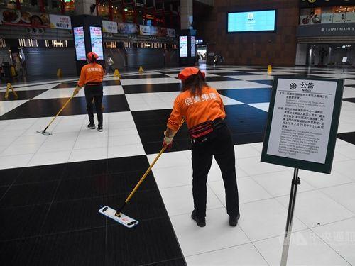 台北駅1階ロビー