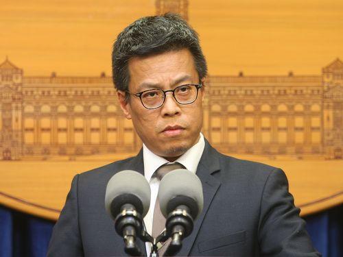 総統府の黄報道官