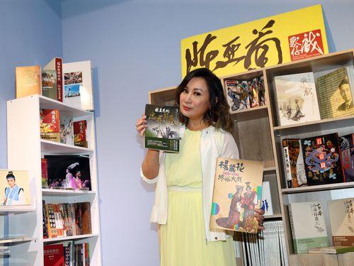 台湾オペラの女優、陳亜蘭さん