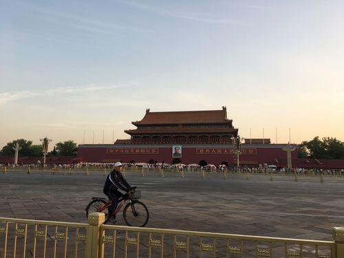 北京市内の天安門広場