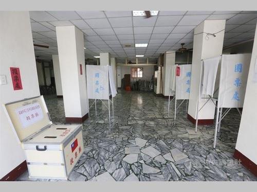高雄市内の投票所