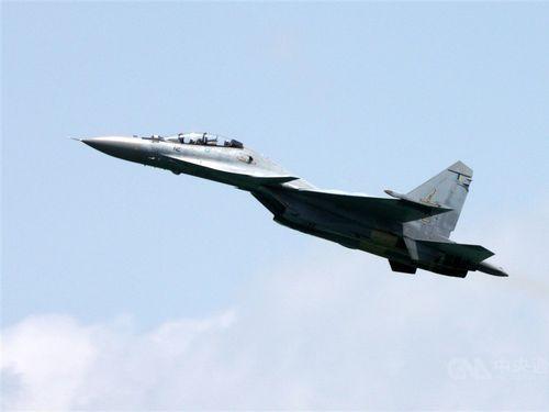 中国のSu-30戦闘機=資料写真
