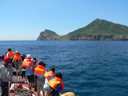台湾北東部の離島「亀山島」=東北角・宜蘭海岸国家風景区管理処提供