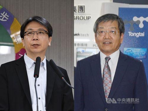 蔡明彦氏(左)と謝武樵氏