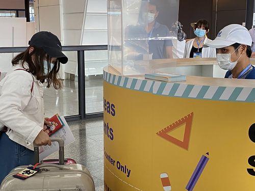 台湾、域外学生の受け入れ開始  第1陣「感動した」