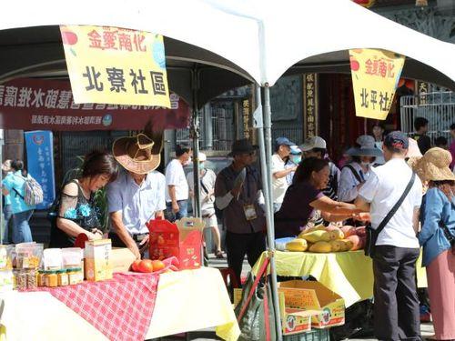 マンゴーフェスの様子=台南市政府提供