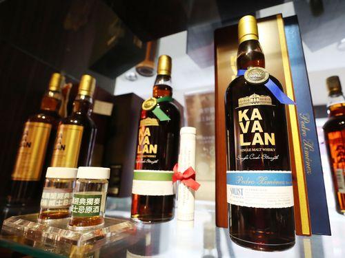 「カバラン」ブランドのウイスキー=資料写真
