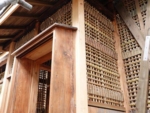 台中市の潭子小付近にある昭和初期の教員宿舎の一部=同市政府提供