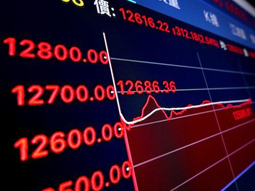 台湾株式市場、30年ぶり最高値