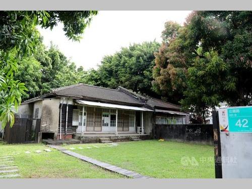 来月修復工事が始まる旧日本軍の宿舎群