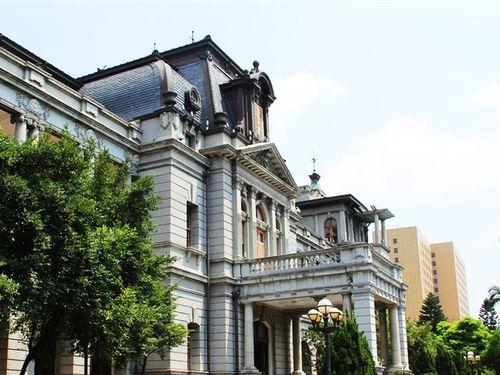 台湾総督官邸だった台北賓館=外交部のウェブサイトから