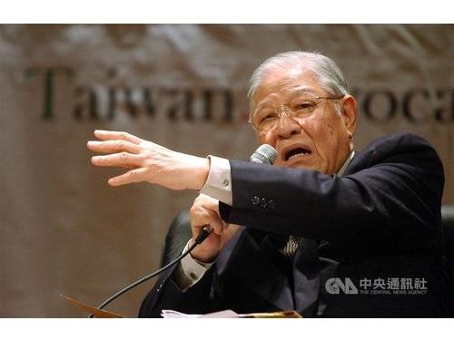 李登輝元総統(中央社資料写真)