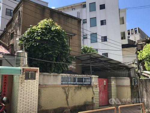 南部・台南市にある湯徳章氏の旧宅