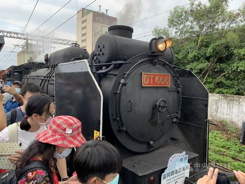 蒸気機関車DT668号機