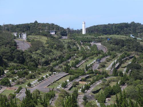 新北市汐止の五指山軍人墓地