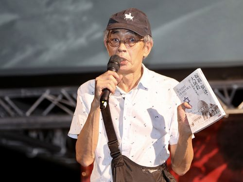 林栄基さん=2020年6月13日、台北