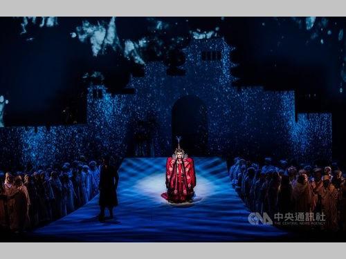 オペラ「トゥーランドット」を台湾から世界に生配信=衛武営国家芸術文化センター提供