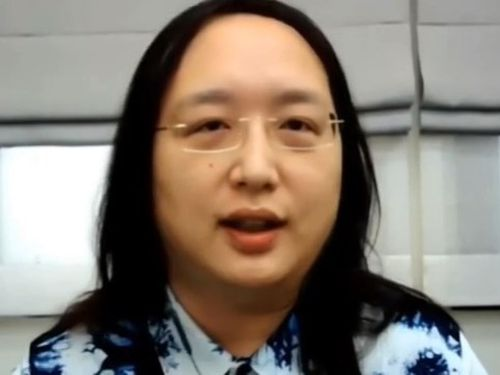唐鳳(オードリー・タン)氏=英議会のウェブサイトから