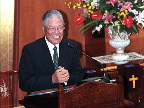 李登輝元総統=2000年撮影