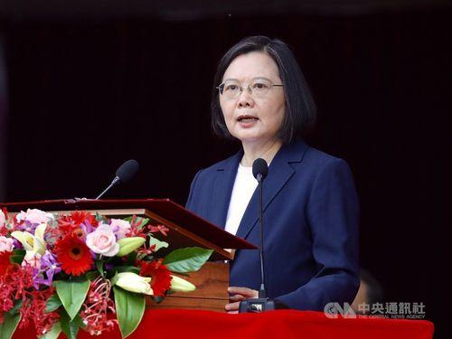 蔡総統、中国軍機の連日台湾侵入は「地域の安全問題」 自制呼び掛け