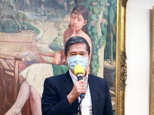 特別展の開幕式に出席した李永得文化部長=同部提供