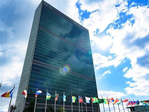 国連本部ビル=国連のフェイスブックから