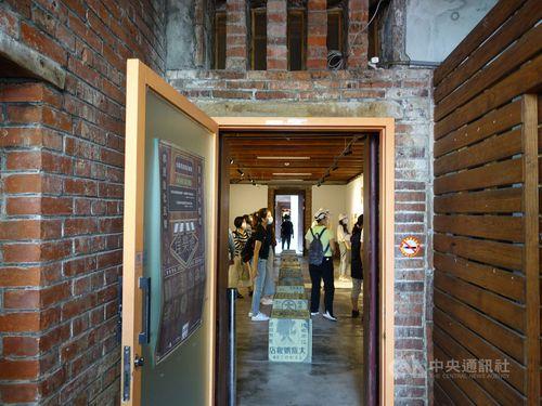 古民家を再利用した展示スペース「埕楽通」