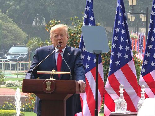 トランプ米大統領