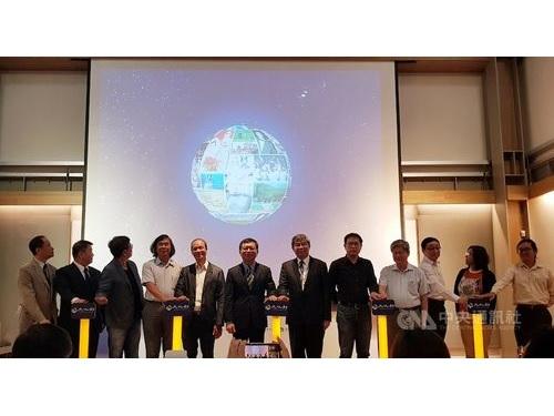 「台湾カルチュラル・メモリーバンク」公開前日の16日に行われた記者会見の様子
