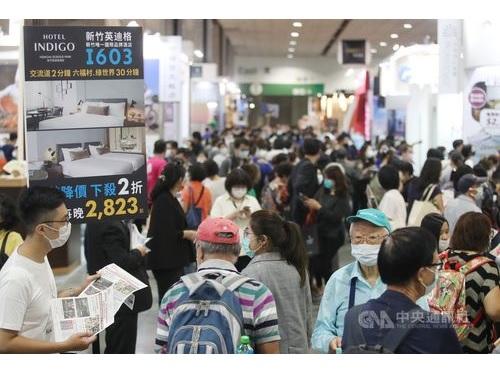 台北国際トラベルフェアの様子