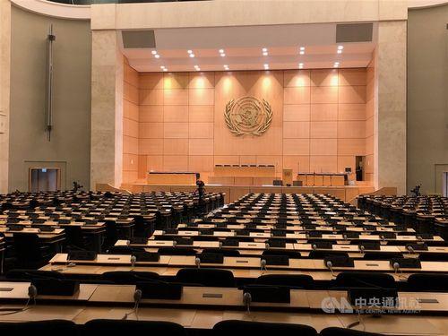 WHO総会の会場=資料写真