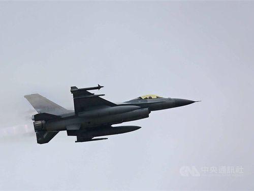 空軍のF16戦闘機=資料写真