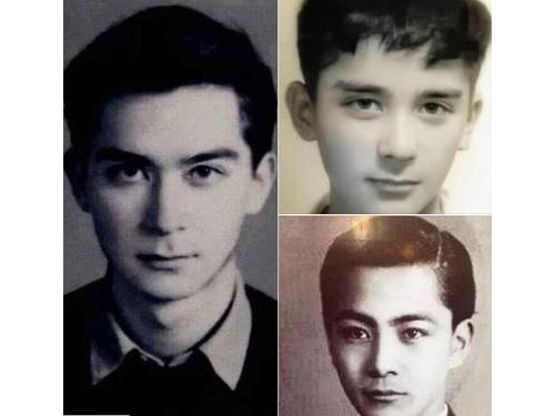 右下は三船敏郎。他の2枚は王徳民=台湾ファクトチェックセンターのウェブサイトから