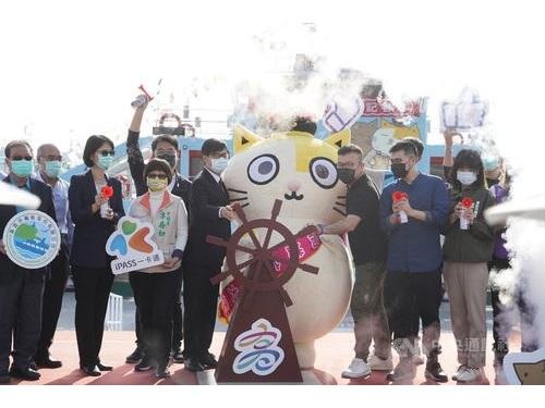 高雄・旗津のフェリーを救え 台湾の人気キャラが「航海大使」に