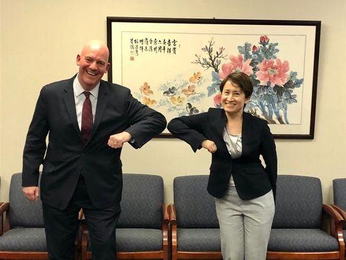 米国務省、高官と蕭駐米代表の面会を日程表に記載 台湾と交流制限撤廃 ...