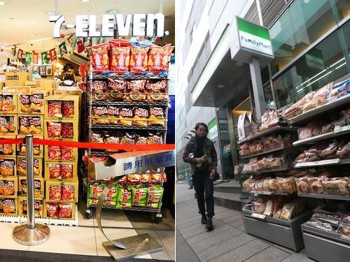 台湾コンビニ2強、2020年の売上高が過去最高 店舗数増加が後押し=資料写真