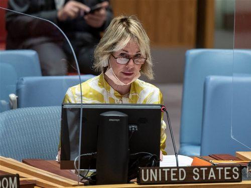 クラフト米国連大使=米国連代表部のツイッターから