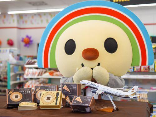 台湾セブン、星宇航空とコラボ 「沖縄系」デザートで「旅行気分を」=星宇航空提供