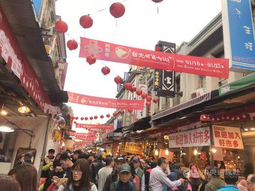 台北・迪化街=2020年1月23日撮影