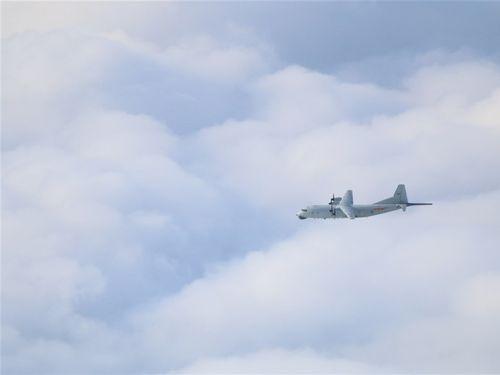 中国軍のY8対潜哨戒機=資料写真、国防部提供