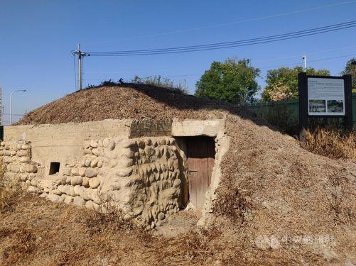 1946~49年の間に建設された台中市内の「崇倫碉堡」=黄国書議員事務所提供