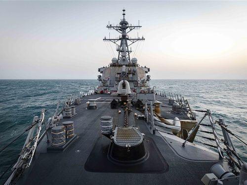 ミサイル駆逐艦「ジョン・S・マケイン」=米第7艦隊のウェブサイトから