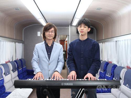 ケビン・リン(左)とジャスティン・リン=ライオントラベル提供