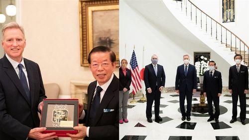 ジョセフ・M・ヤング駐日米国臨時代理大使のツイッター twitter.com/USAmbJapanから